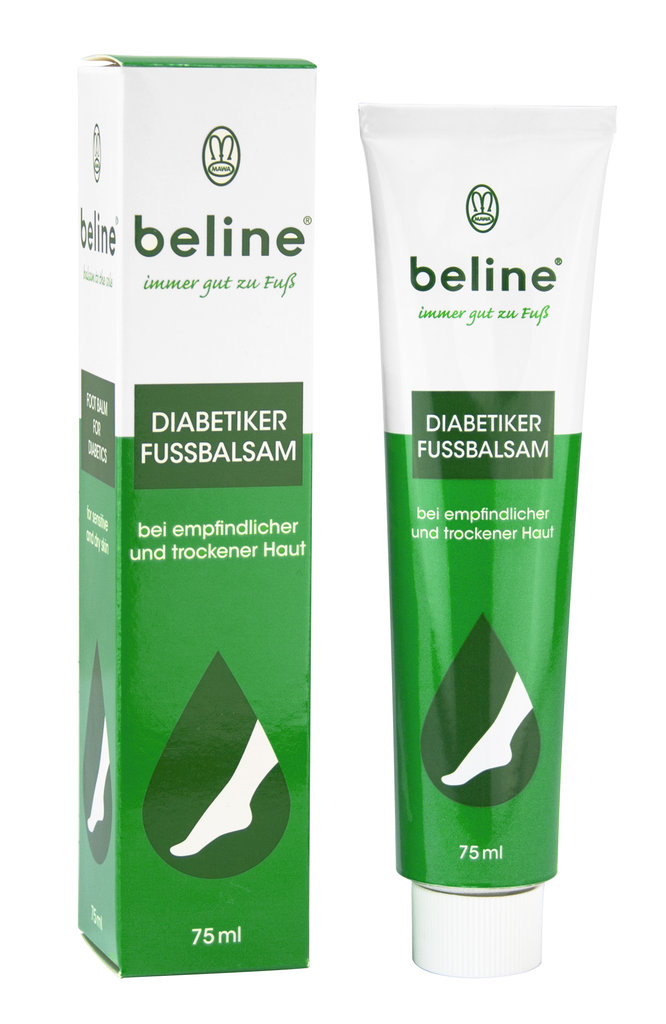 Beline Diabetiker Fußbalsam | diabetes.moglebaum.com